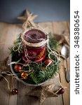 herring with beetroot | Shutterstock . vector #348380654