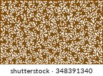 rustic leaves background | Shutterstock .eps vector #348391340