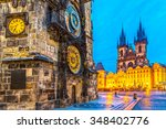 Prague  Tyn Church And Old Tow...