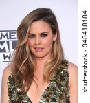 Small photo of LOS ANGELES - NOV 22: Alicia Silverstone arrives to the American Music Awards 2015 on November 22, 2015 in Los Angeles, CA.