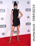 los angeles   nov 22   kendall... | Shutterstock . vector #348418214
