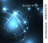 structural constructive light... | Shutterstock .eps vector #348419279