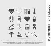 medical icons | Shutterstock .eps vector #348421220