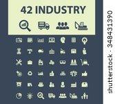 industrial business  factory ... | Shutterstock .eps vector #348431390