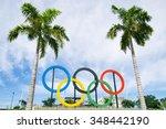 rio de janeiro  brazil  ... | Shutterstock . vector #348442190