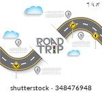 Road   Street With Map Pointer...