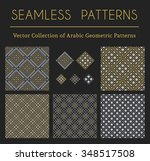 seamless textures collection... | Shutterstock .eps vector #348517508