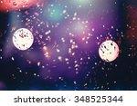 christmas background   Shutterstock . vector #348525344