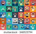 human profession concept | Shutterstock .eps vector #348525794