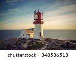 Lighthouse Lindesnes Fyr At...