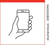 touch screen gestures icon for...   Shutterstock .eps vector #348545594