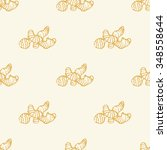 seamless vector pattern with... | Shutterstock .eps vector #348558644