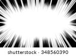 comic book black and white... | Shutterstock .eps vector #348560390