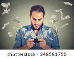 technology online banking money ... | Shutterstock . vector #348581750
