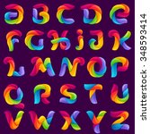 Funny Alphabet Letters Formed...