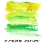 Hand Drawn Watercolor Wash....