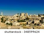 old city of jerusalem   Shutterstock . vector #348599624