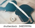 Bra with centimeter for...