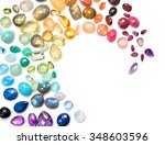 rich variety of real colorful... | Shutterstock . vector #348603596
