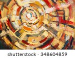 original oil painting on canvas.... | Shutterstock . vector #348604859