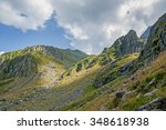 carpathian mountains  volcanic... | Shutterstock . vector #348618938