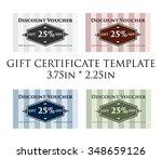 promotion certificate   gift...   Shutterstock .eps vector #348659126