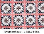 detail of some typical... | Shutterstock . vector #348695456