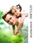 father and daughter | Shutterstock . vector #34871125