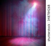 show background. smoky vector... | Shutterstock .eps vector #348784268