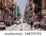 palermo  italy   september 7 ... | Shutterstock . vector #348795794