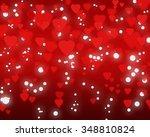 happy valentine's day... | Shutterstock . vector #348810824