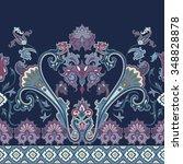 Seamless Paisley Pattern ...