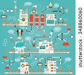 modern vector illustration of... | Shutterstock .eps vector #348860060