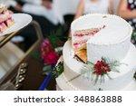 White Multi Level Wedding Cake...