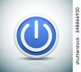 power button | Shutterstock .eps vector #348866930