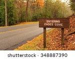 Entrance To Cades Cove In Grea...