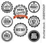 badges vintage. collection of... | Shutterstock .eps vector #348890069