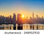 Midtown Manhattan Skyline At...