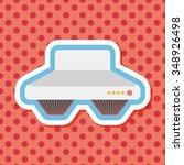 kitchenware range hood  flat... | Shutterstock .eps vector #348926498