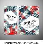 brochure business design... | Shutterstock .eps vector #348926933