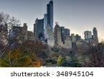 new york city   december 5 ... | Shutterstock . vector #348945104