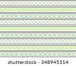 ethnic seamless pattern vector. | Shutterstock .eps vector #348945314