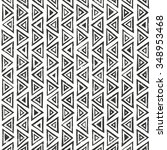 abtract geometric pattern with... | Shutterstock .eps vector #348953468