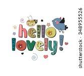 the original spelling of the... | Shutterstock .eps vector #348955526