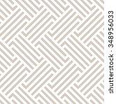 the geometric pattern by... | Shutterstock . vector #348956033