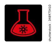 microorganism analysis vector... | Shutterstock .eps vector #348975410