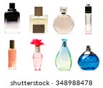 Perfume Bottles Collage