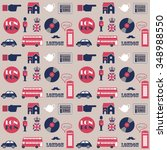 seamless vector pattern with...   Shutterstock .eps vector #348988550