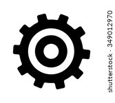 cog icon | Shutterstock .eps vector #349012970