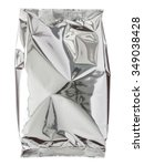 foil package bag isolated on... | Shutterstock . vector #349038428